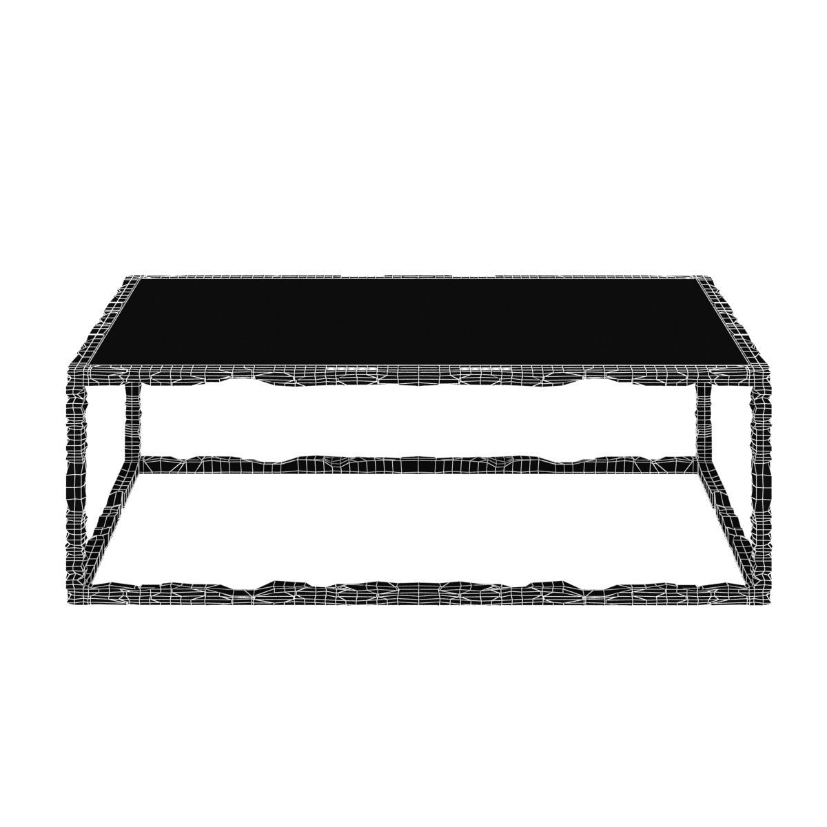 ... Bruno Romeda Bronze And Glass Coffee Table 3d Model Max Obj 3ds Fbx Mtl  Unitypackage 6 ...