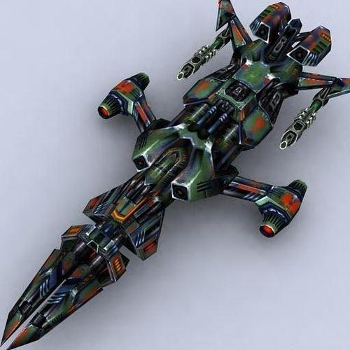 Fighter 10 3D Model Game