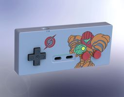 printable metroid-style nes controller 2