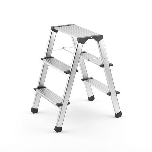 step ladder 3d model max obj 3ds fbx 1