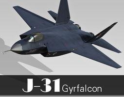 3d shenyang j-31