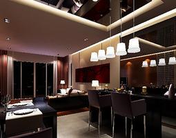 Living Room light 3D