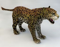 3D model Jaguar Animated