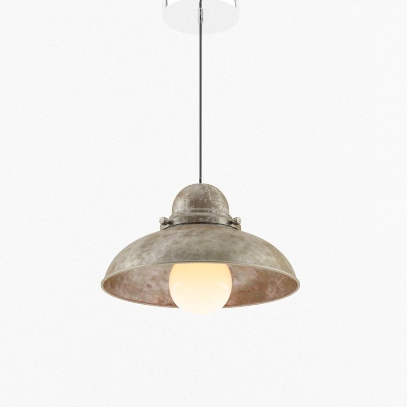 Perfect Old Ceiling Lamp 3d Model Max Obj 3ds Fbx 1 ...