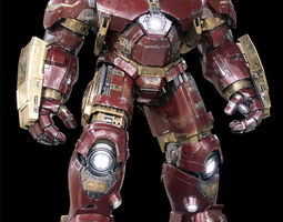 Iron Man Mark 44 - Hulkbuster Armor 3D rigged