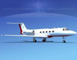 3D Grumman Gulfstream C-IIB V14