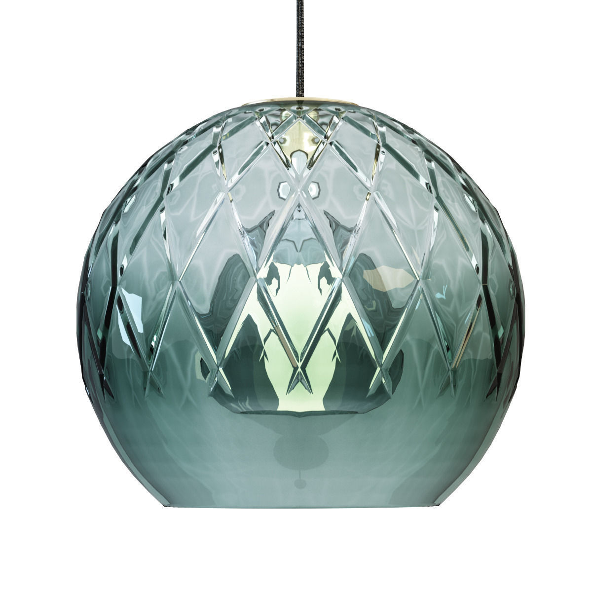 Hanging Light Round: Baccarat SFERA ROUND PENDANT LIGHT 3D Model MAX OBJ 3DS