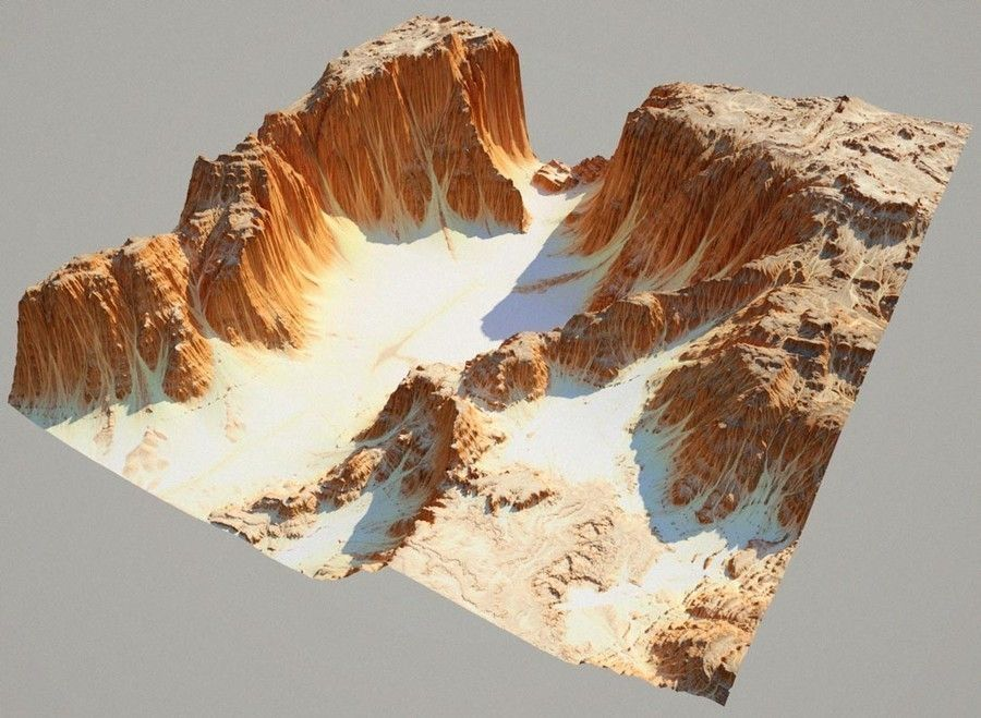 Detailed Canyon Model | 3D model