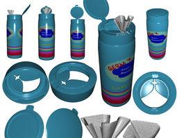 3D model Wipe Dispenser