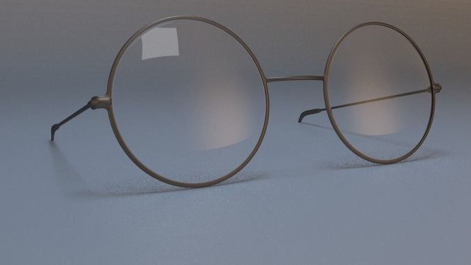 3d glasses obj