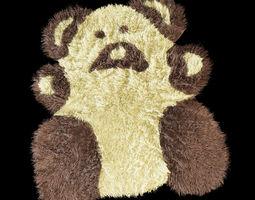 Bear carpet 3D Model