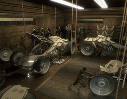 3D asset Workshop Render Scene