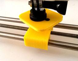 3d printable model hand motion camera slider
