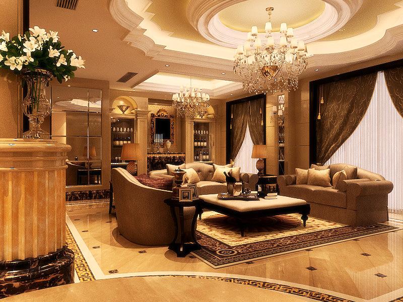 Living Room 060 3d Model Max