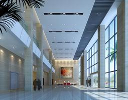 Lobby foyer 3d model