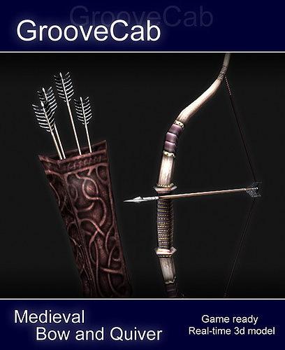3D model Bow Arrows Quiver | CGTrader