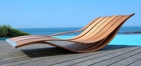 Marvelous Elegant And Flexible Outdoor Lounge Chairs By Pooz 3D Model