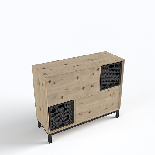 Scandinavian Furniture Set 3d Model Max Obj Fbx Mtl 36