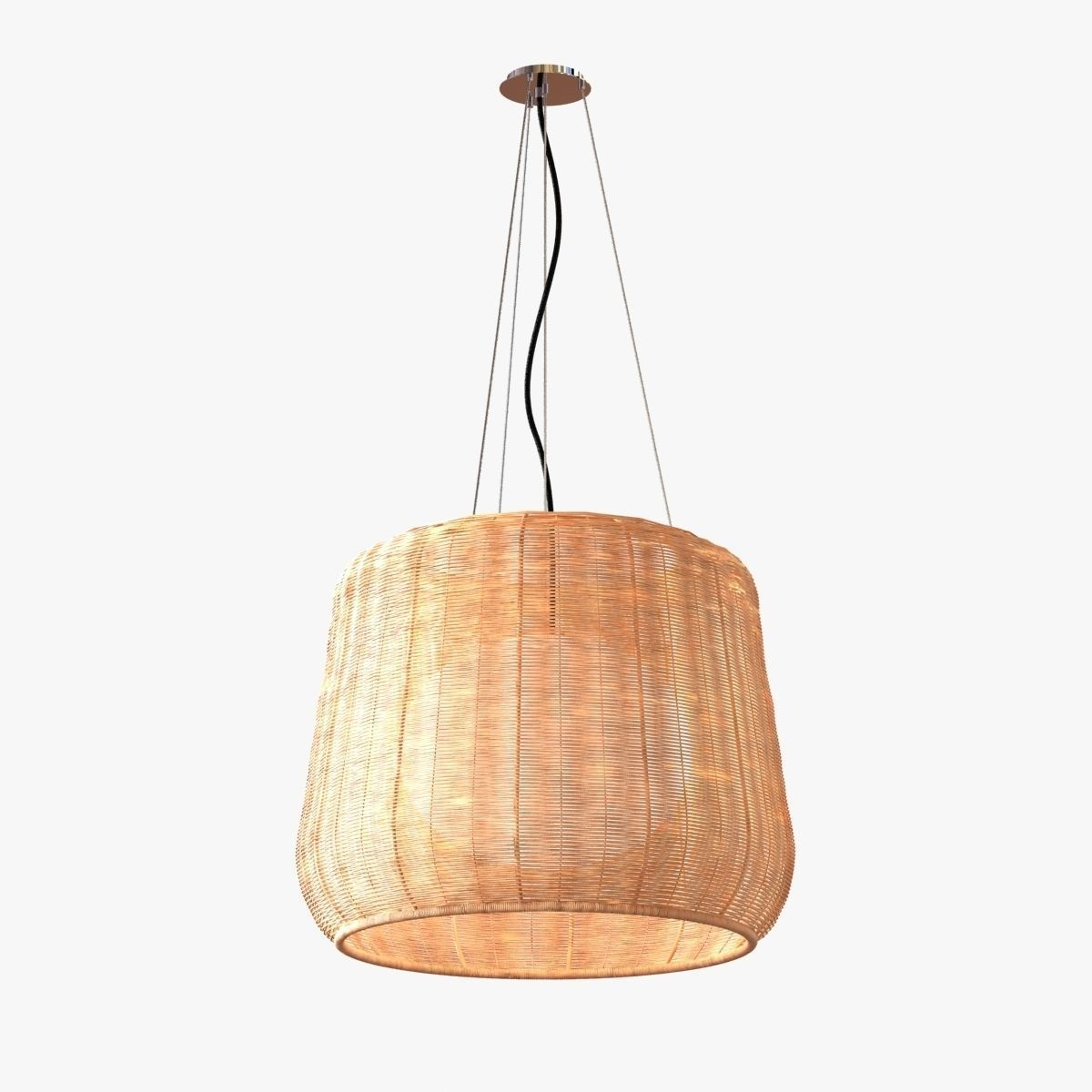 Garden Lamp 3d Model: Bover - Fora Outdoor Pendant Light 3D