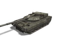 3D asset T-95 Black Eagle tank