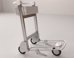 3D model Airport Trolley