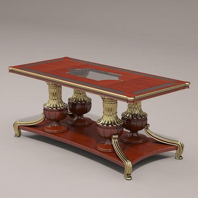 Superieur Tea Table 3d Model Max Obj Mtl 1 ...