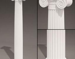 3D Antique Column type 7