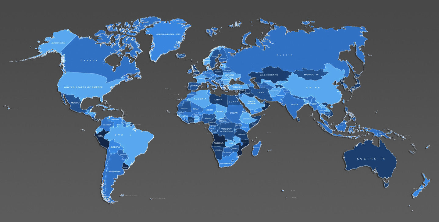 3d world map and usa map cgtrader 3d world map and usa map 3d model max obj fbx mtl 5 gumiabroncs Choice Image