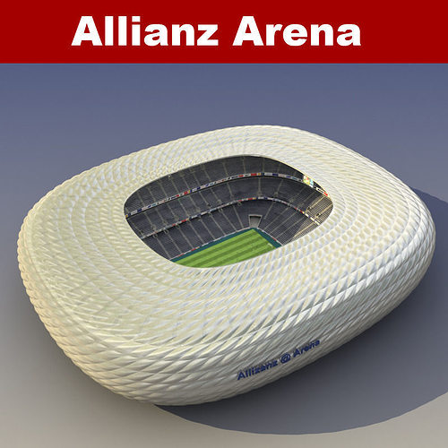allianz arena 3d model max obj mtl fbx 1