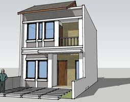 3D model Agathis Type A