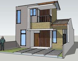3D model Agathis Type D