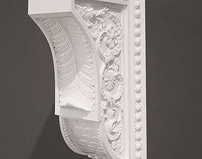 Holder Antique Style bracket 3D