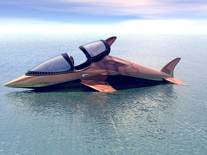 Dolphin Speed Boat 3d Cgtrader