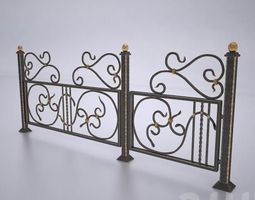 3D Forged fences