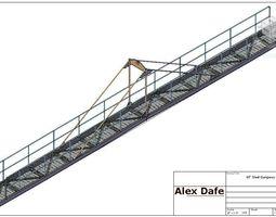 60 feet gangway 3d print model