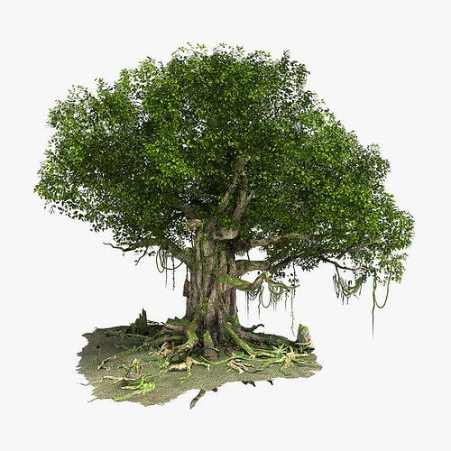 3d модели деревьев