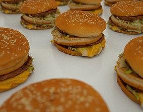 Hamburger 3D model