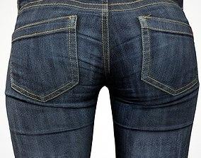Jeans 3D model