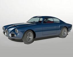 Alfa Romeo 1900 SSZ 1956 3D Model