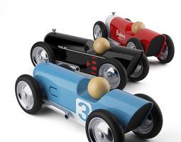 Mini Toy Cars Thunder by Baghera 3D