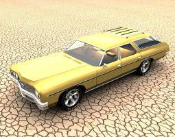 3D 1973 Chevrolet Impala Wagon