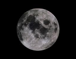 moon 8k 3d