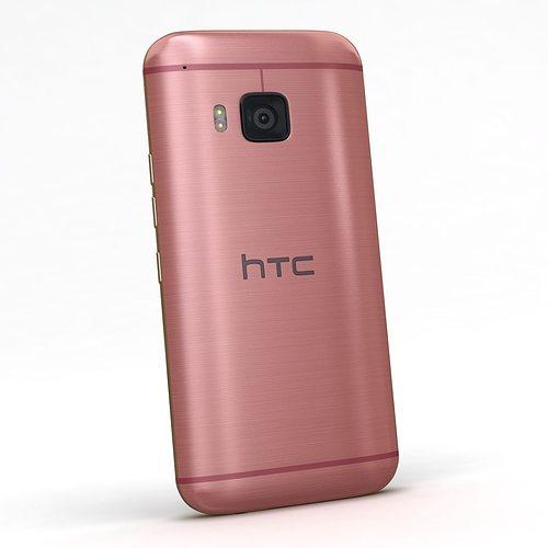 htc one m9 gold. htc one m9 pink or gold 3d model max obj 3ds fbx c4d mtl 4