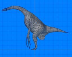3D model Therizinosaurus Dinosaur