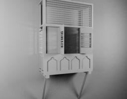 Mashrabiya Free Model 3D