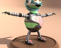 SCARY ROBO 3D model