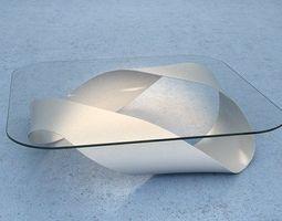 3d modern mobius table