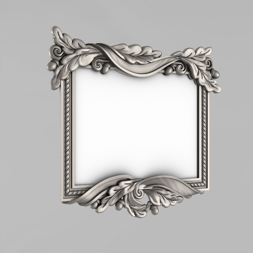 Frame for the mirror 3D print model elements | CGTrader