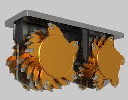 3D model DIGGING MACHINE