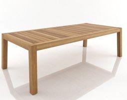 anne table 3d model